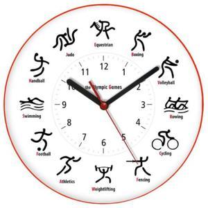 Zegar języki świata OLIMPIC GAMES - 2827615190