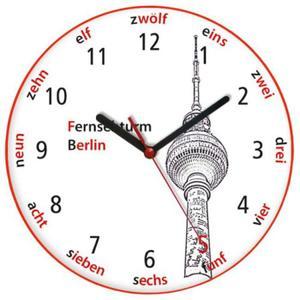 Zegar języki świata BERLIŃSKA WIEŻA TV - 2827615199