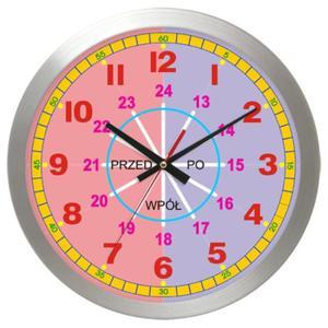 Zegar edukacyjny metal Mój pierwszy zegar - 2827615248