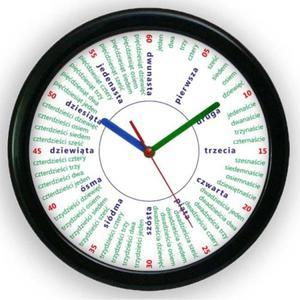 Zegar edukacyjny solid Liczydło - 2827615249