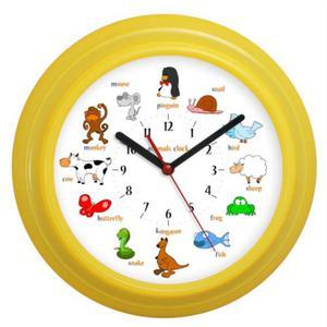 Zegar ścienny falisty Animals - 2827615252
