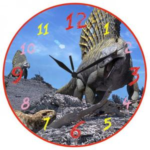 Zegar naścienny Dinozaur #1 - 2827615256