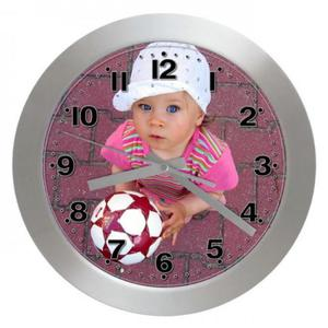 Zegar z autorską tarczą aluminiowy - 2827615095