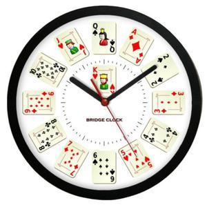 Zegar naścienny sport Czas na Brydża #2 - 2827615280