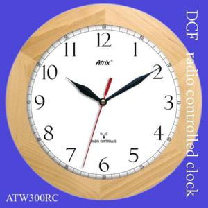 Zegar drewniany sterowany radiowo K1 - 2827615297