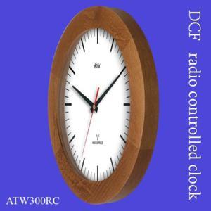 Zegar drewniany sterowany radiowo K2 - 2827615298