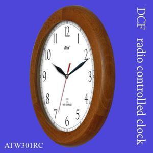 Zegar drewniany sterowany radiowo P1 - 2827615299