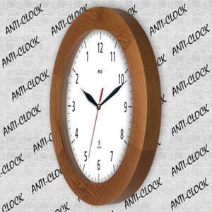 Zegar drewniany solid REWERS #1 - 2827615301