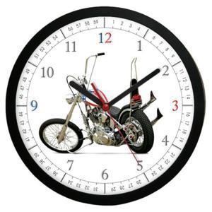 Zegar kwarcowy Czas na Motocykl #1 - 2827615099