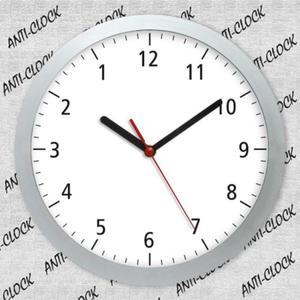 Zegar chodzący do tyłu SOLID - 2827615309