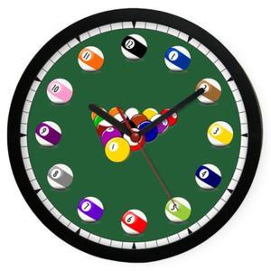 Zegar naścienny sport Czas na Bilard - 2827615100