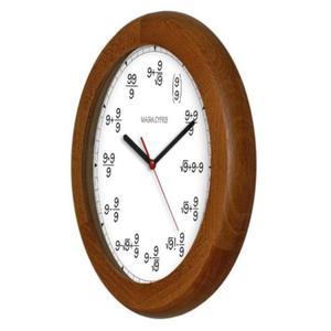 Zegar drewniany rondo Magia 9 - 2827615324