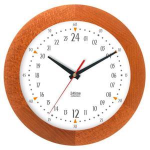 Zegar 24-godzinny drewniany solid #3 - 2827615388
