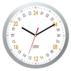 Zegar naścienny solid #2 24-godzinny - 2827615389