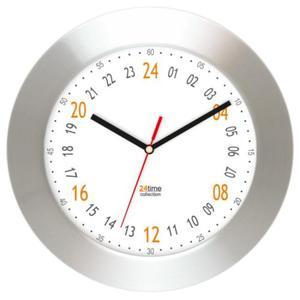 Zegar ścienny aluminiowy 24-godzinny #2 - 2827615390