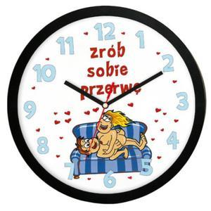 """Zegar """"Zrób sobie przerwę"""" solid - 2827615395"""