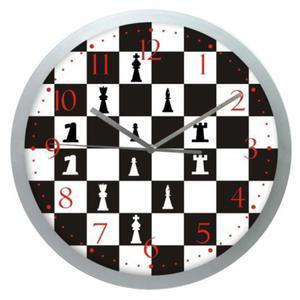 Zegar okrągły sport Czas na Szachy - 2827615109
