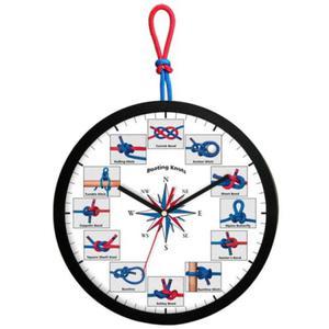 Zegar kwarcowy Czas na Żagle - 2827615411