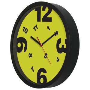 Zegar ścienny czarny Tarcza #6 - 2827615412
