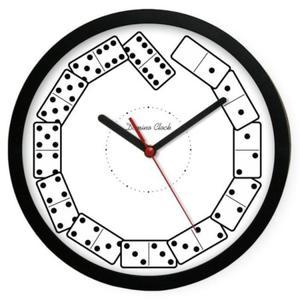 Zegar plastikowy sport Kostki Domina - 2827615110