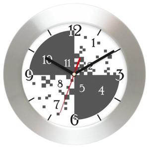 Zegar ścienny aluminiowy Tarcza #3 - 2827615111