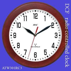 Zegar drewniany sterowany radiowo P3 - 2827615424