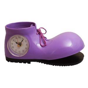 Zegar na biurko w kształcie rozklejonego buta - 2827615434