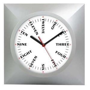 Zegar kwadratowy języki świata - 2827615451