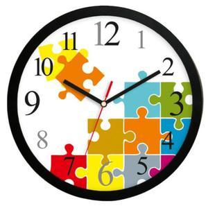 Zegar okrągły sport Czas na Puzzle - 2827615455