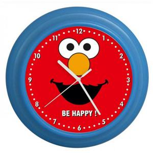 Zegar naścienny kolorowy BE HAPPY #3 - 2827615462