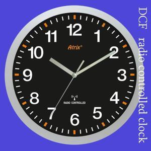 Zegar ścienny solid sterowany radiowo #4 - 2827615476