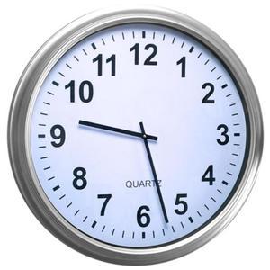 Zegar ścienny gigant 650mm silver - 2827615484
