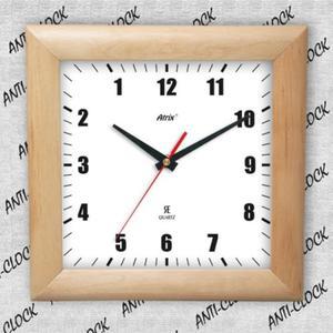 Anty zegar kwadrat drewniany #1 - 2827615078
