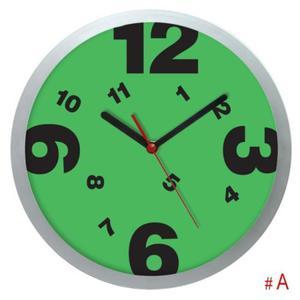 Zegar ścienny srebrny Tarcza #6 - 2827615133