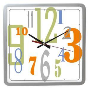 Zegar ścienny kwadrat Tarcza #2 - 2827615139