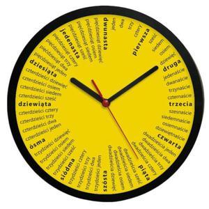 Zegar ścienny okrągły Liczydło #1 - 2827615141
