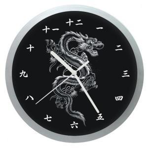 Zegar ścienny okrągły Chiński Smok - 2827615144