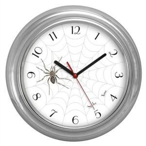 Zegar chromowany pająk SPIDER TIME - 2827615147