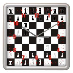 Zegar kwadrat sport Czas na Szachy - 2827615158