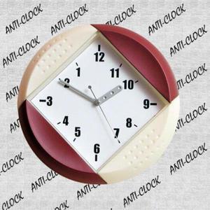 Anty zegar plastikowy okrągły - 2827615082