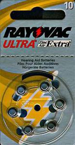 Bateria RAYOVAC 10AE słuchowa do aparatów słuchowych - 2825244024