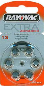Bateria RAYOVAC 13AE słuchowa do aparatów słuchowych - 2825244025