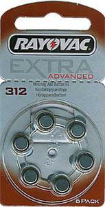 Bateria RAYOVAC 312AE słuchowa do aparatów słuchowych - 2825244026