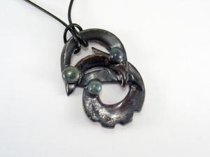 wisior ceramiczny - 2827524436