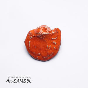 Broszka ceramiczna pomara - 2827530911