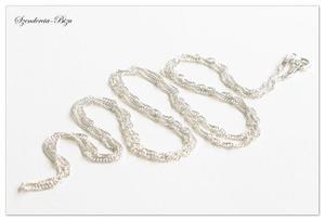 925 Srebrny Łańcuszek Singapur 60cm - 2835871682
