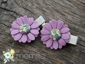 BETSY Spinki do włosów kwiatki - 2876832713