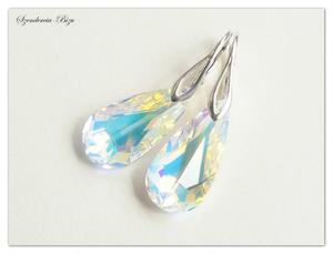 Kolczyki Swarovski Teardrop Crystal AB - 2836334002