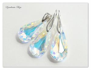 Komplet Swarovski Teardrop Crystal AB - 2836334005