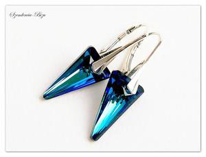 Kolczyki Swarovski Spike Bermuda Blue - 2846536855